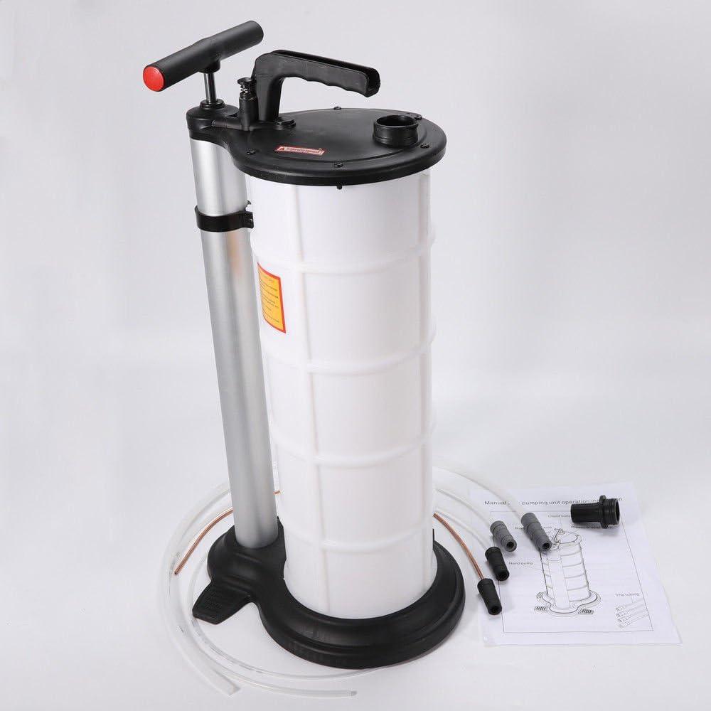 WUPYI2018 9L /ÖlAbsaugpumpe Manuelle /Ölabsaugung Absaugpumpe /Ölabsaugpumpe Fl/üssigkeitsabsaugpumpe /Ölpumpe Udruckpumpe Handpumpe