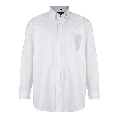 Kam Oxford Long Sleeve Shirt Pink 3xl 6xl Klassische Hemden Herrenmode