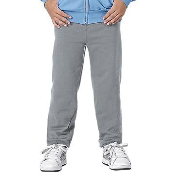a88e58f60a55 Amazon.com : Hanes Youth EcoSmart Fleece Pant : Clothing