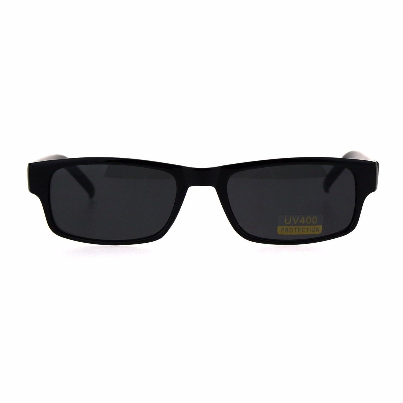 Amazon.com: TODO negro estrecho rectangular plástico fino ...