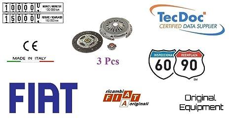 Fiat 71794718 Kit Embrague 3 piezas Fiat Panda 169 1.3 Multijet 55 kW