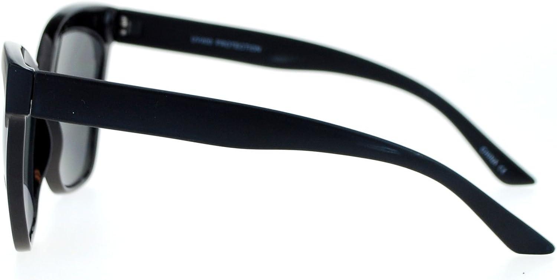 SA106 Womens Thick Plastic Oversized Retro Cat Eye Designer Sunglasses