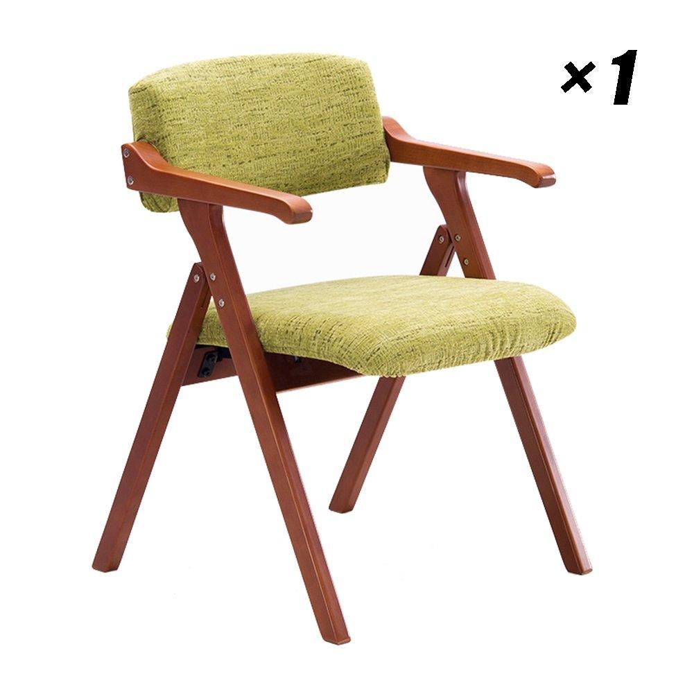 ホテル背もたれ椅子ソリッドウッドダイニングチェアファブリック家庭用椅子キッチン、カフェ、会議用55×57×78cm (色 : Red-brown, サイズ さいず : Set of 1) B07F82THHR Set of 1|Red-brown Red-brown Set of 1