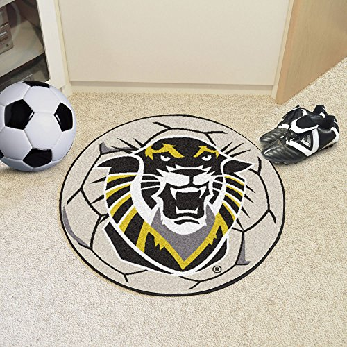 - Fort Hays State Tigers NCAA Soccer Ball Round Floor Mat (29)