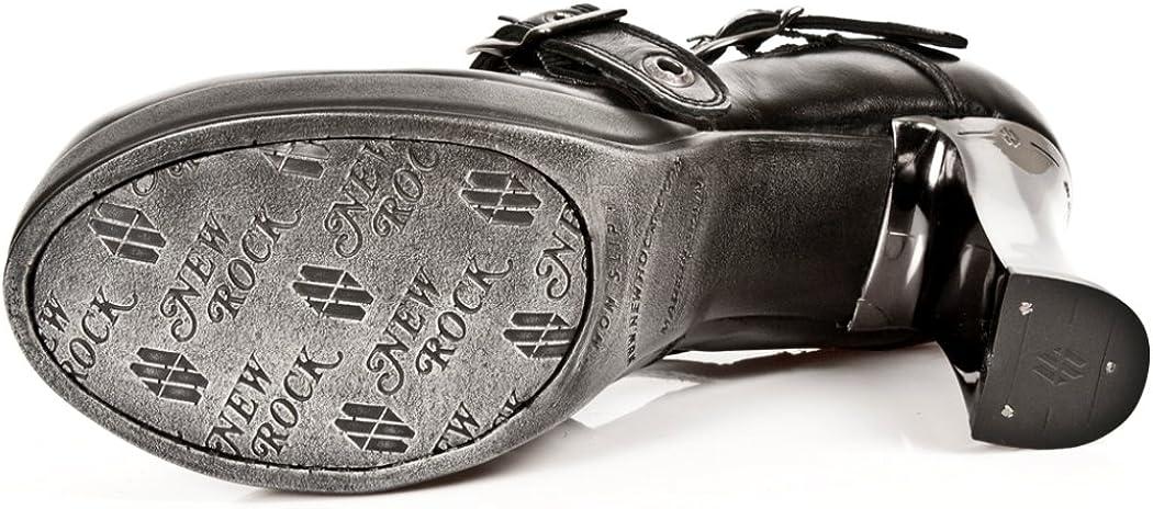 New Rock Newrock NR M.5805 S10 Black Boots Womens