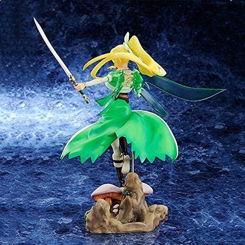 Sword Art Online Kirigaya Suguha Fine Dance Demon Elf Standbeeld Actie PVC Figure