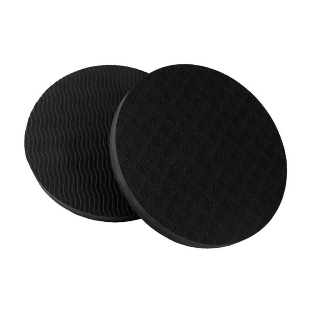 VORCOOL Yoga cuscino pad tappetino da yoga supporto protezione per ginocchio gomito Pol 2pcs (nero)