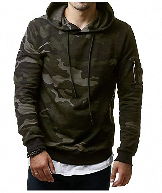 Pureed Hoodies Hombres Hombres Otoño Nner Pullover Sudaderas Sudadera Camuflaje Hombres Hip Hop Pullover Plus Velvet