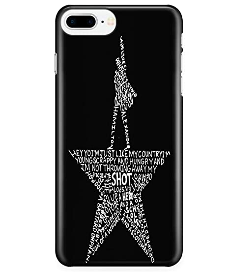 finest selection dda2c afbcc Amazon.com: iPhone 7 Plus/7s Plus/8 Plus Case, Hamilton Case for ...