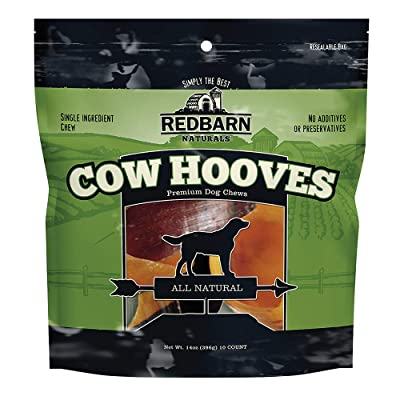 Redbarn Cow Hooves 10pk Natural Dog Chew