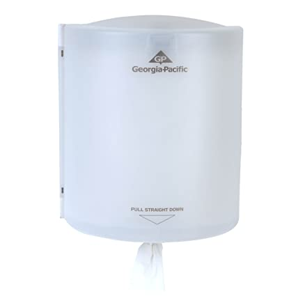 SofPull Centerpull Regular Capacity Paper Towel Dispenser by GP PRO, Translucent White, 58237,