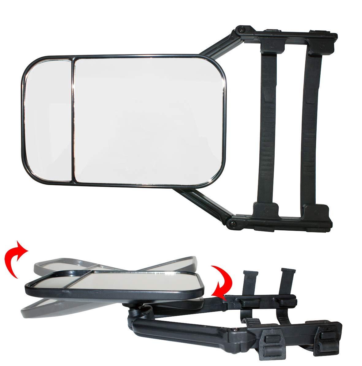 LAS 2X Caravanspiegel universal fü r PKW Wohnwagen-Spiegel Set Paar mit E-Zulassung