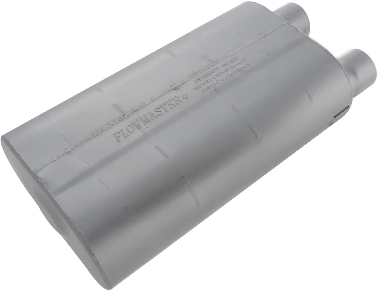 2.50 Offset IN 2.50 Same Side OUT Aggressive Sound Flowmaster 52580 80 Series Muffler