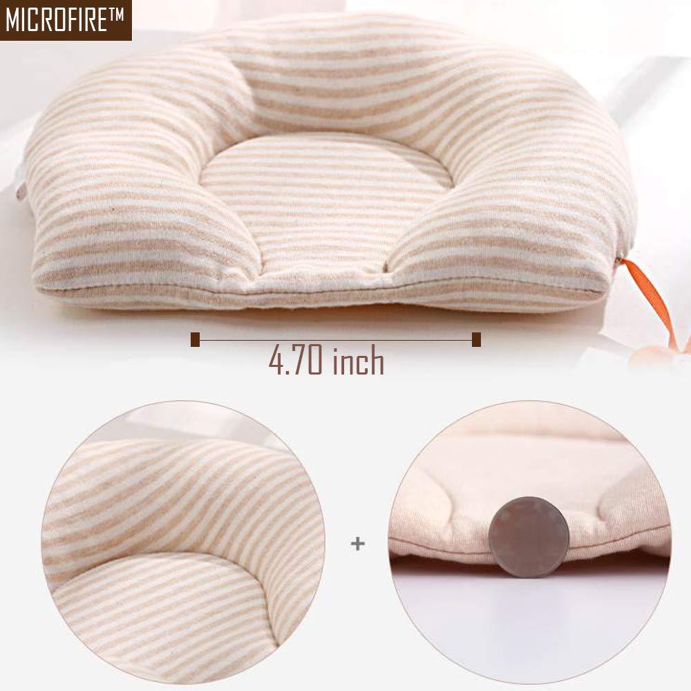 Amazon.com: Bebé recién nacido almohada cabeza plana bebé ...