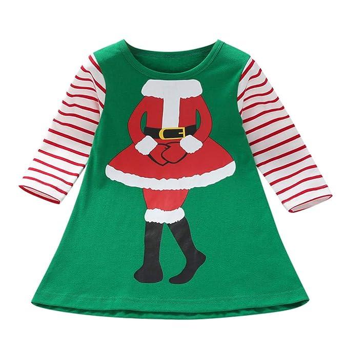 K-Youth Disfraces de Navidad Niñas Disfraz Vestido de Fiesta ...