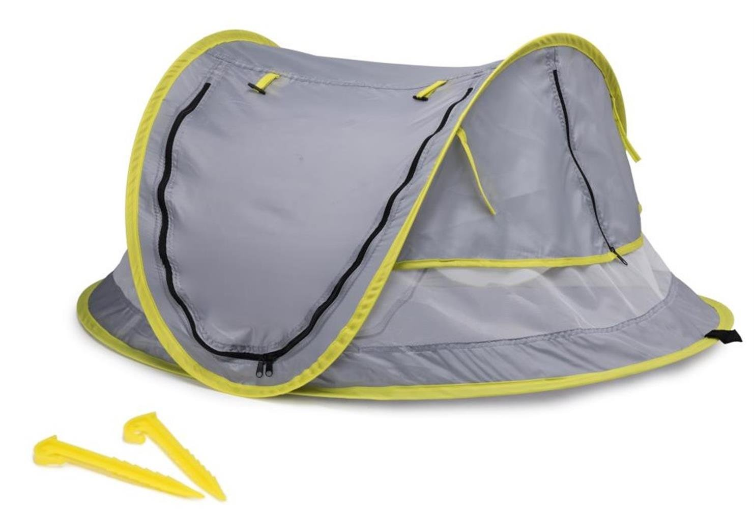 Hyindoor Baby Tent Portable Baby Travel Bed UPF 50+ Sun Travel Cribs Pop up Folding Beach Tent Mosquito Net