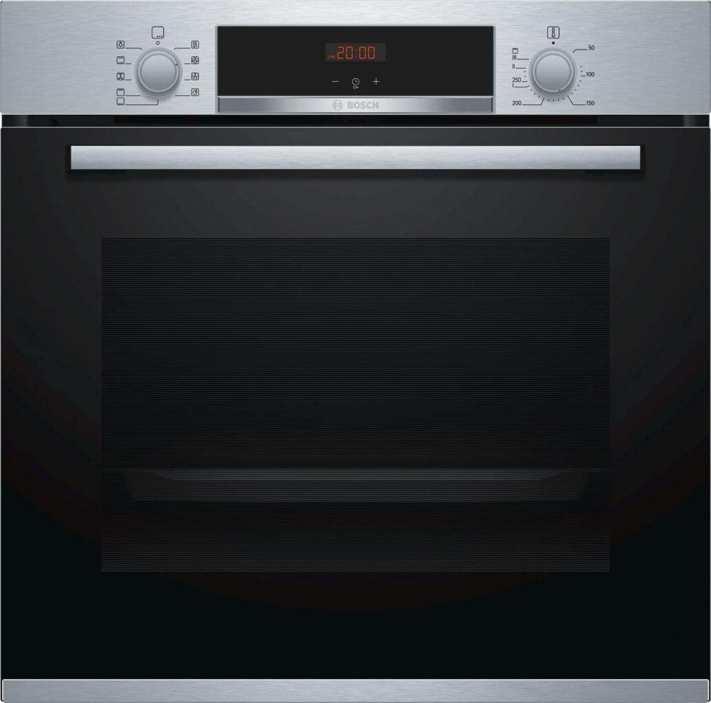 Bosch Serie 4 HBA512BR0 - Horno (Medio, Horno eléctrico, 71 L, 71 L, 3400 W, 50-275 °C)