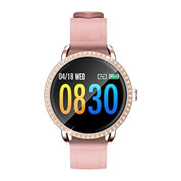 Smartwatch resistente al agua de vidrio templado Fitness Reloj ...
