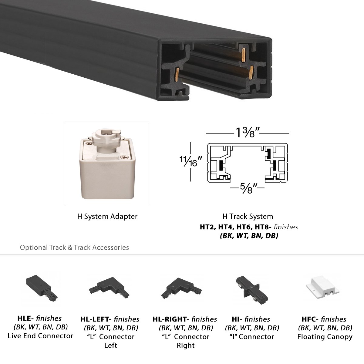 Wac lighting hr hl 4 low voltage new construction housing recessed can light - Wac Lighting H Led207 30 Wt Contemporary Summit Acled 15w Beamshift Line Voltage Cube H Track Head Amazon Com