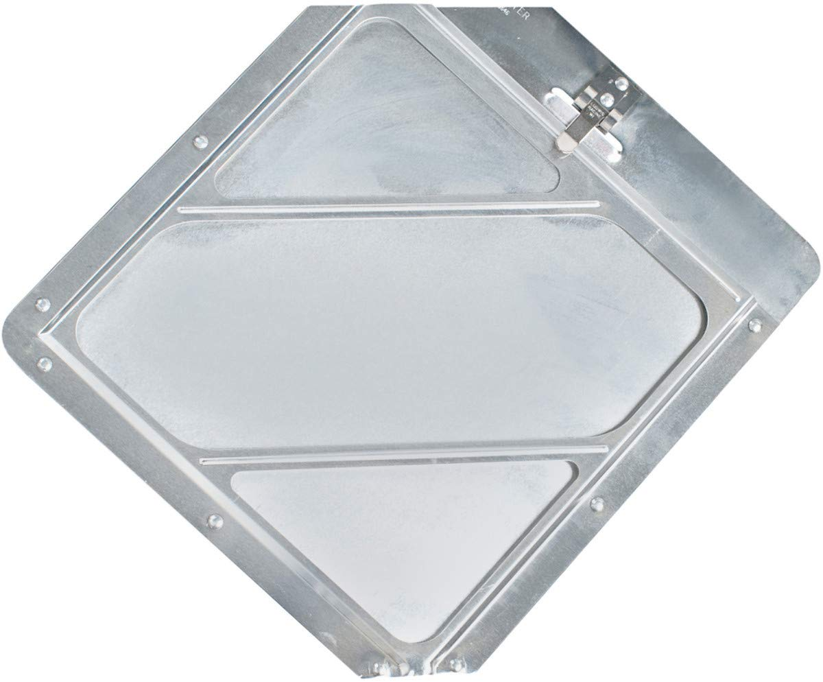 Brady 1.75'' X 1.75'' Clear Aluminum Vehicle Placard Holder