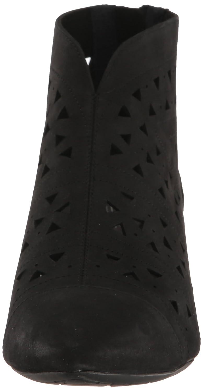 Rockport Women's Total Motion Kalila Perf Shootie Fashion Boot B01JU48WAG 8.5 W US|Black Nubuck