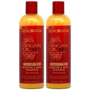 Creme of Nature Argan Oil Moisture & Shine Shampoo 12oz