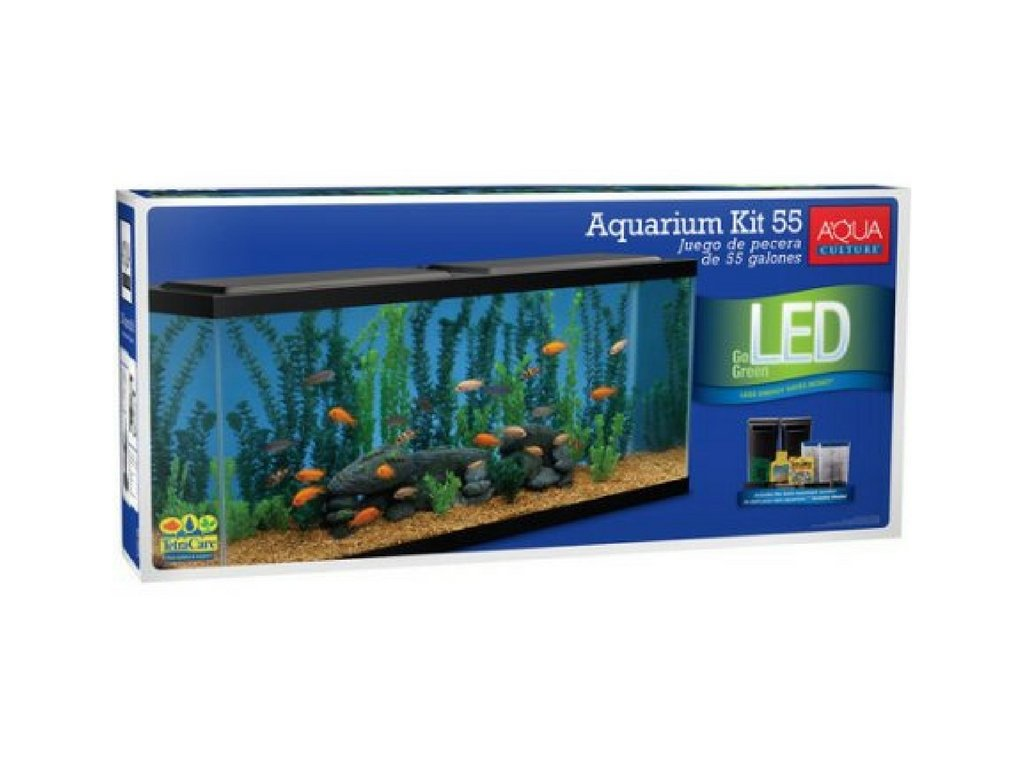 Aqua Culture Aquarium Starter Kit, 55 Gallon by Aqua Culture
