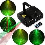 Disco Lights Party Lights GOOLIGHT Dj Strobe Light LED Projector Metal Case Sound