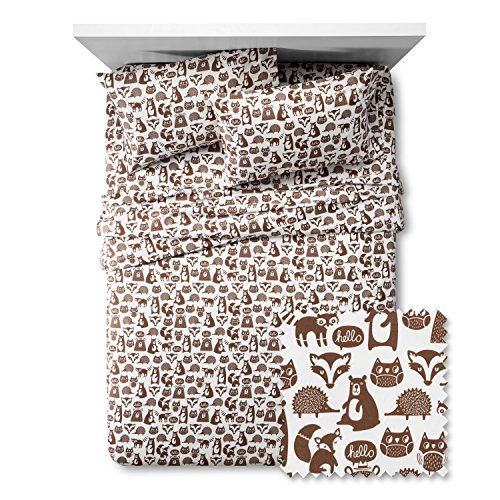 Friends Full Sheet Set - Pillowfort Forest Friends Sheet Set, Full