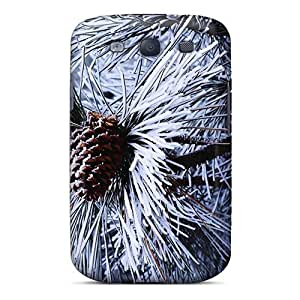 Galaxy High Quality Tpu Case/ Pine Needles 2 NWcUeIJ8476duooT Case Cover For Galaxy S3