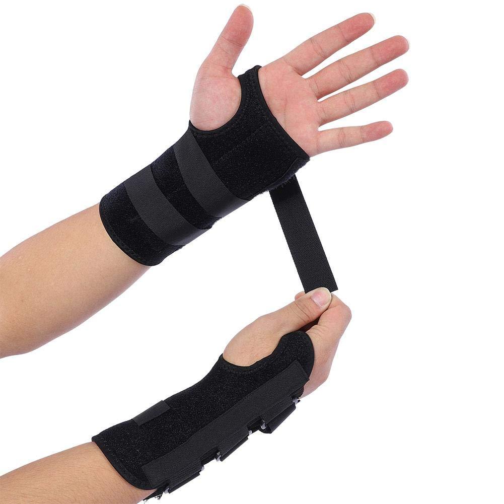 Tbest Wirst Supporter Adjustable Wrist Guard Sports Wrist Brace Support Injury Prevention Sprain Fractures 1 Pair by Tbest