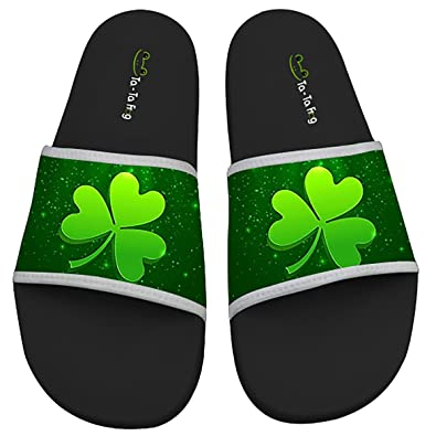 Shamrock Anti-skidding Beach And Pool Flip Flops Sandals