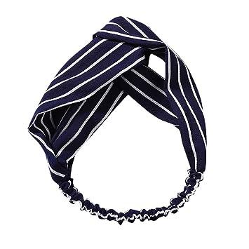 Amazon.com : Bohemia Turban Elastic Headband for Women Fashion Hairband Twist Knot Headwrap Sunmoot : Beauty