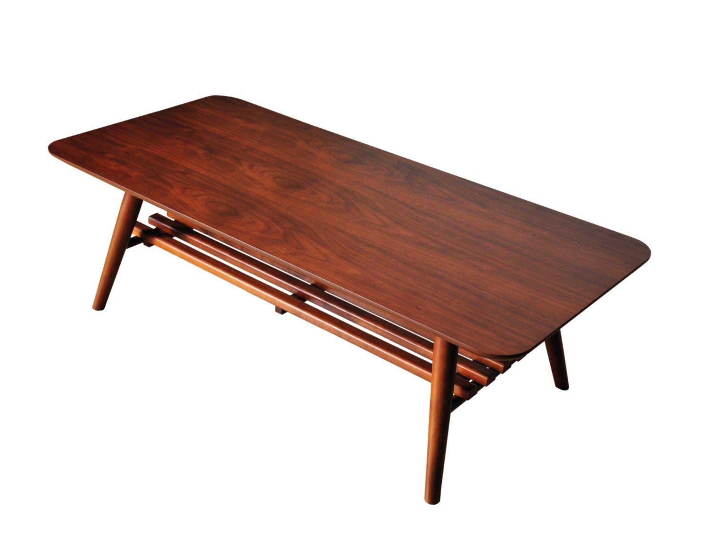 セレノテーブル(高さ35幅110cm) VT40110T B009YDAHKM ダークブラウン ダークブラウン