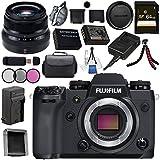 Fujifilm X-H1 Mirrorless Digital Camera (Body Only) 16568731 XF 35mm f/2 R WR Lens 16481878 Bundle