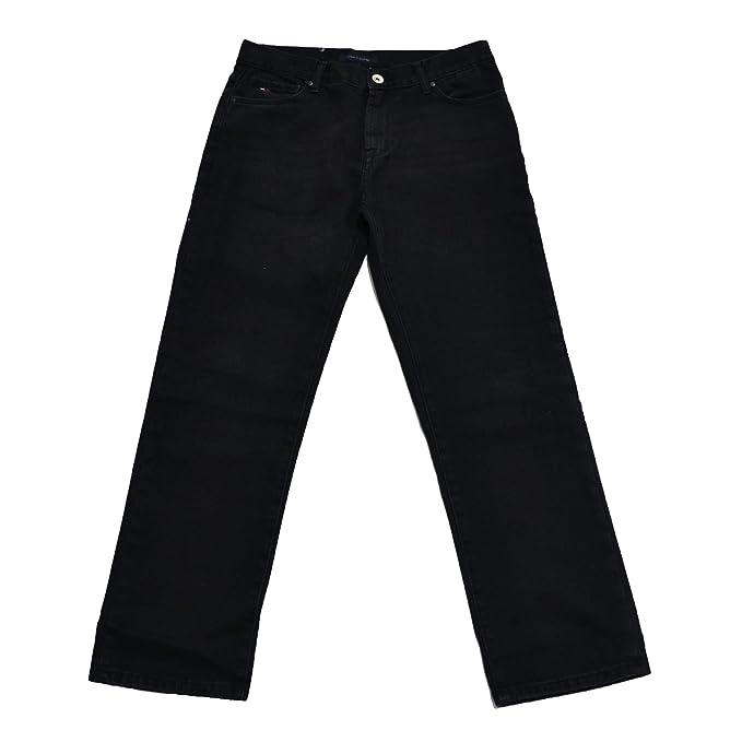 Amazon.com: Tommy Hilfiger de los hombres Custom recta Jeans ...