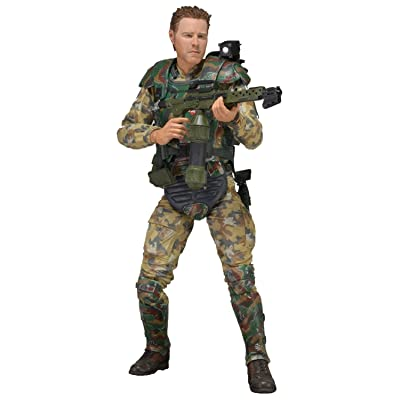 "NECA Series 2 Aliens Sergeant Windrix 7"" Action Figure: Toys & Games"