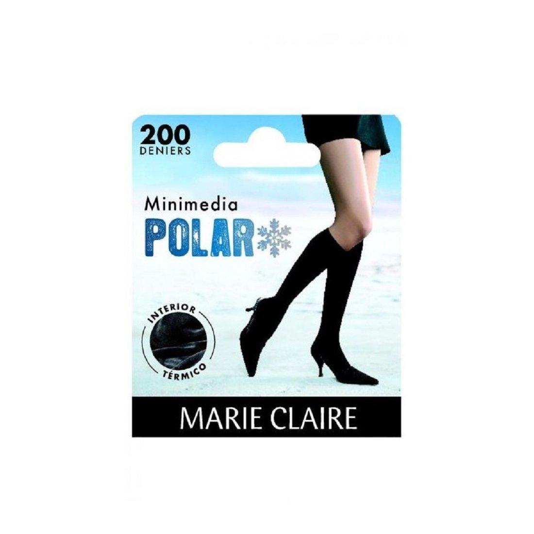 MARIE CLAIRE 2452 - mini media polar con interior termico 200 DEN (UNICA, GRIS): Amazon.es: Ropa y accesorios