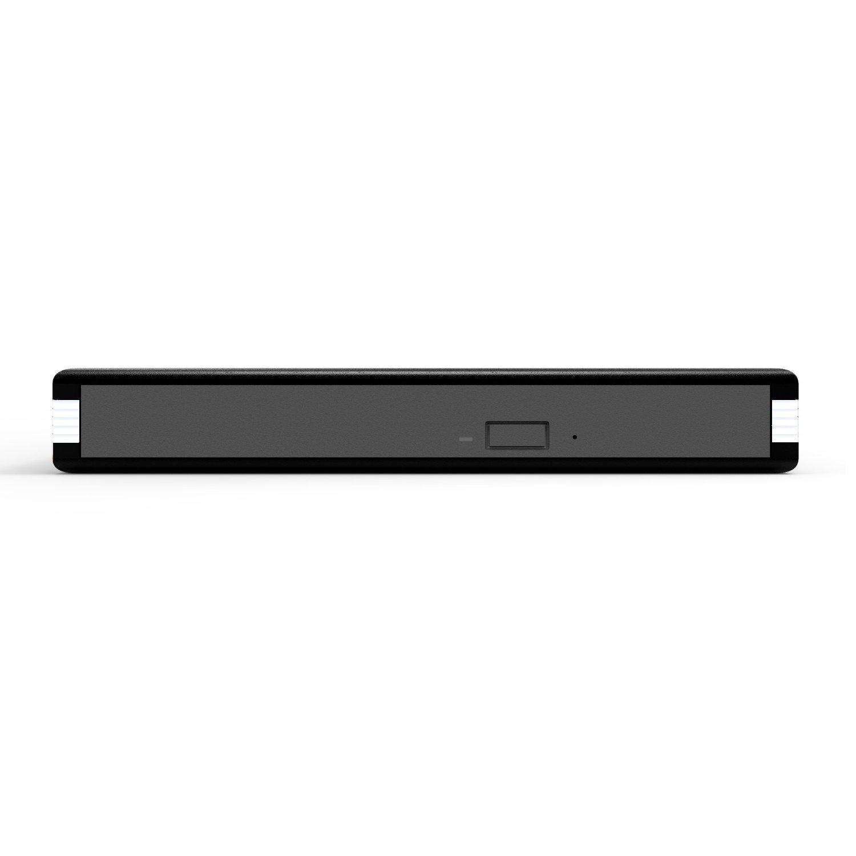 Firstcom - Caja externa para reproductor y grabador de CD, DVD y Blu-Ray, interfaz SATA, 12,7 mm de altura, conexión USB 3.0, color negro ...