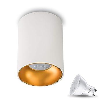 Lámpara de techo plafón Aufputz redondo Astral Incluye X 3.5 ...