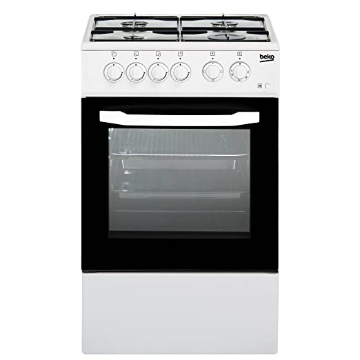 Beko CSS42014FW Libera installazione Gas B Bianco cucina: Amazon.it ...