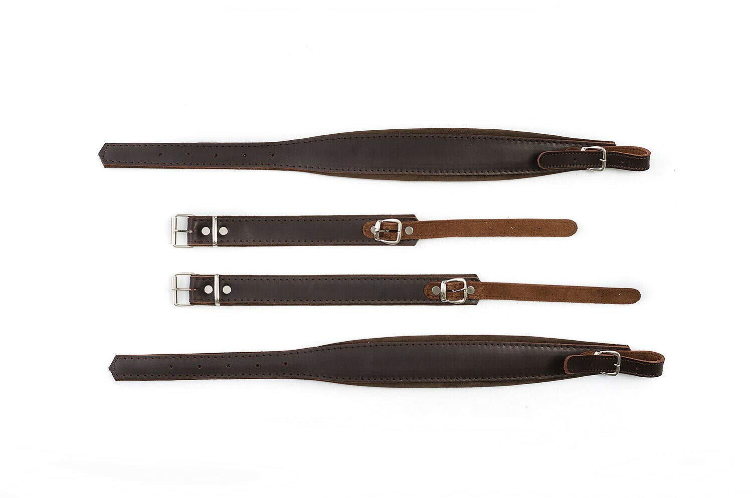 New Real Leather Quality Shoulder Straps 60,48,40 Bass Accordion Belts Correas by Used musical instruments