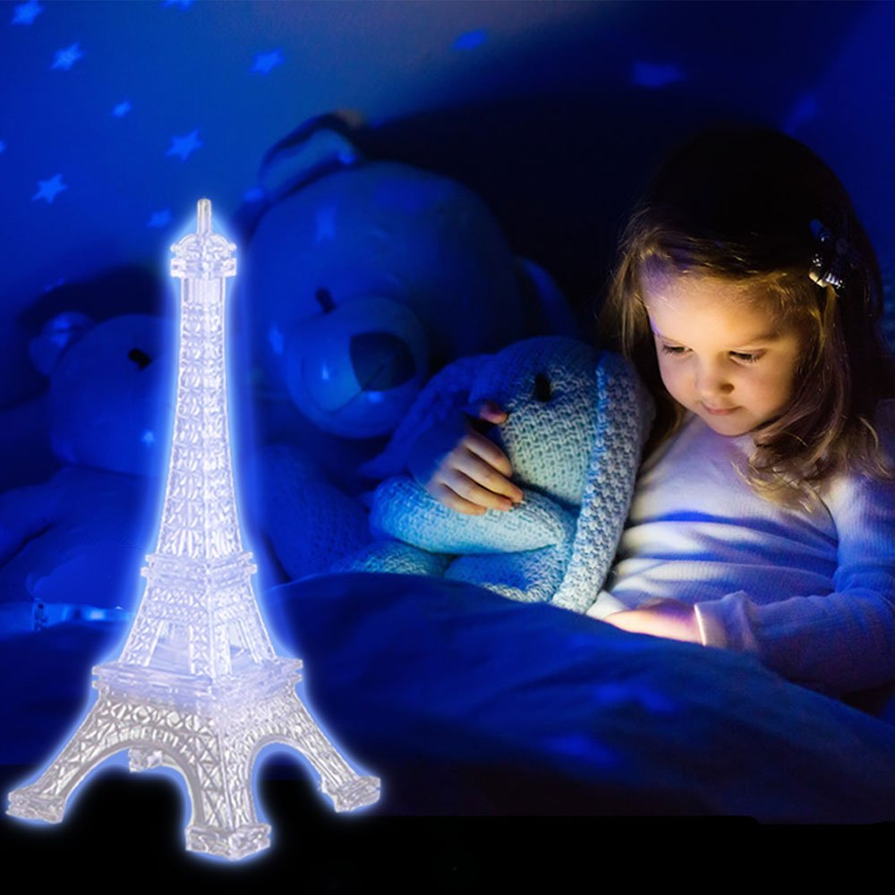 Amazon.com: Eiffel Tower - Lámpara de mesa para dormitorio ...