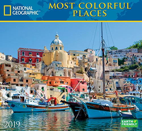National Geographic Most Colorful Places 2019 Wall Calendar ()