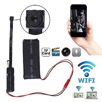 Mini Portable Full HD 1080P DIY Video Remote Control Hidden DV  IP Camcorder