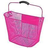 Ventura Quick Release Wire Basket, Pink
