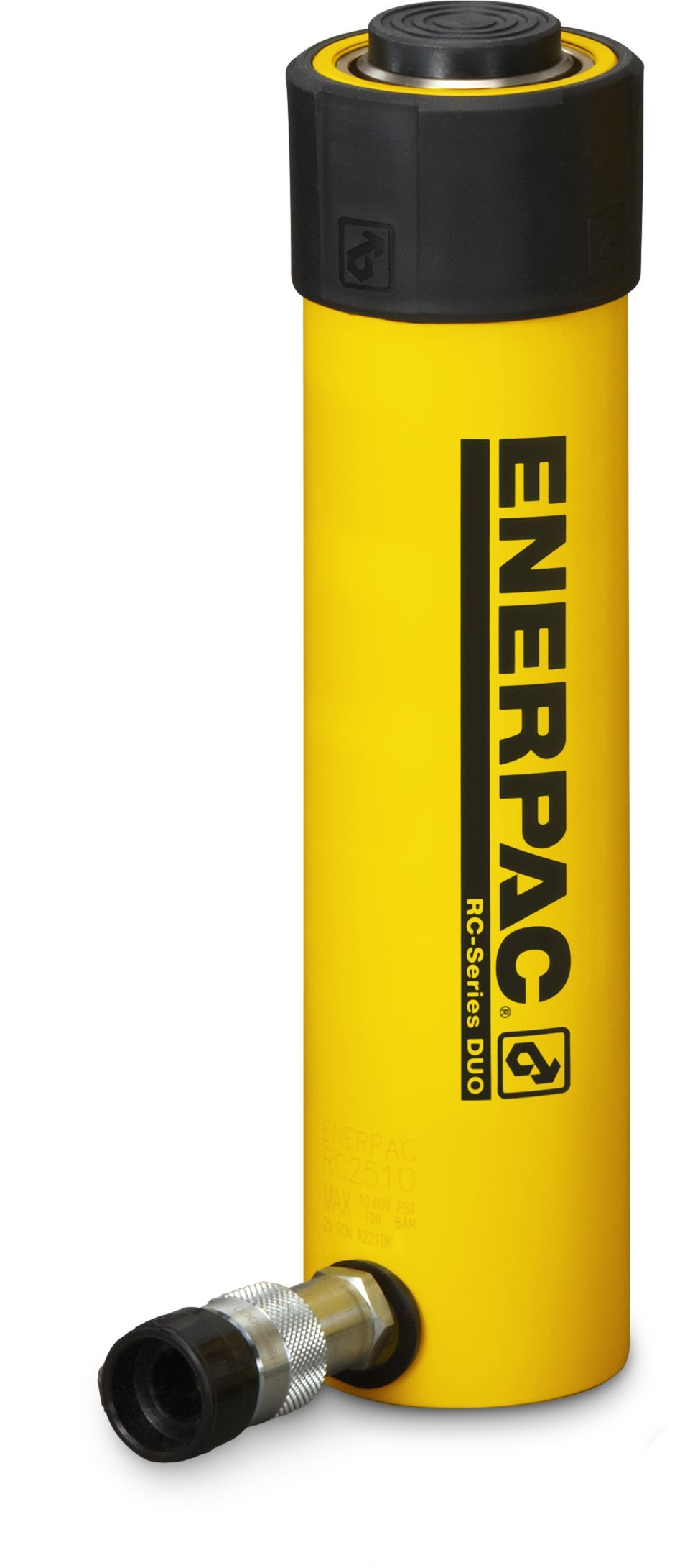 Enerpac RC-2510 Single-Acting Alloy Steel Hydraulic Cylinder with 25 Ton Capacity, Single Port, 10.25'' Stroke by Enerpac