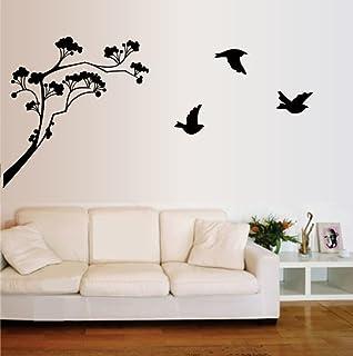 45c15b04aeb Buy Decals Design  Sparrows Branch  Wall Sticker (PVC Vinyl