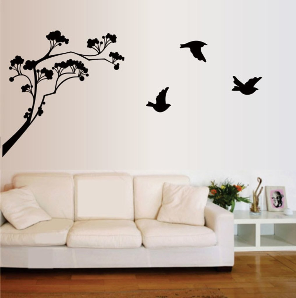 Buy Decals Design U0027Lollipop Treeu0027 Wall Sticker (PVC Vinyl, 60 Cm X 45 Cm,  Black) Online At Low Prices In India   Amazon.in