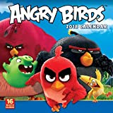 Sellers Publishing 2018 Angry Birds Wall Calendar (CA0104)